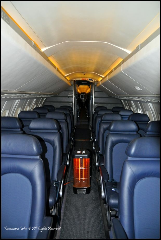 The British Airways Concorde 4 Seater Interior