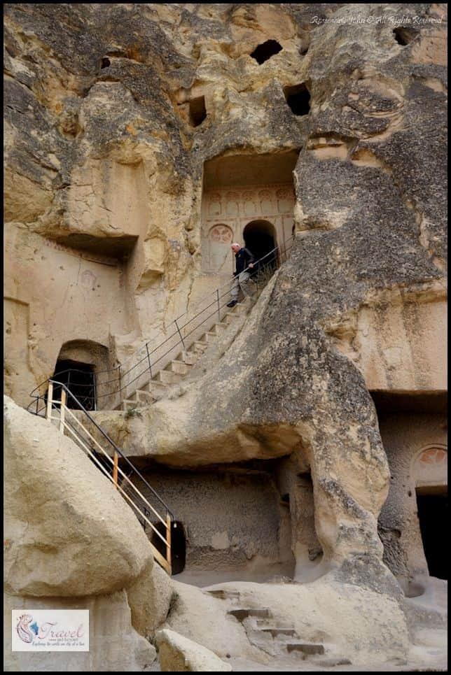 Multi-storey rock-cut churches