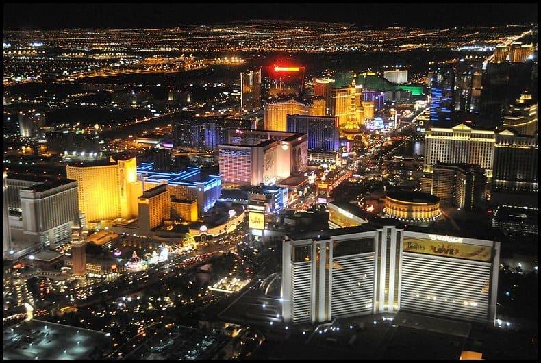 Las Vegas Strip Photo by BleedingSky84