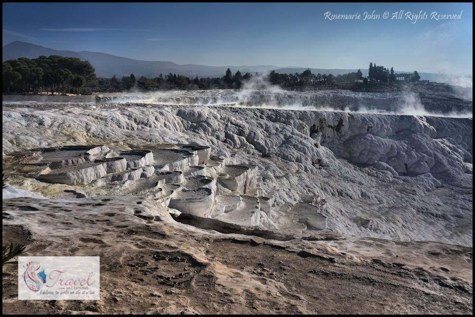 The hot springs at Hierapolis (which still attract visitors today) were believed to have healing properties, and people came to the city to bathe in the rich mineral waters in order to cure various ailments.