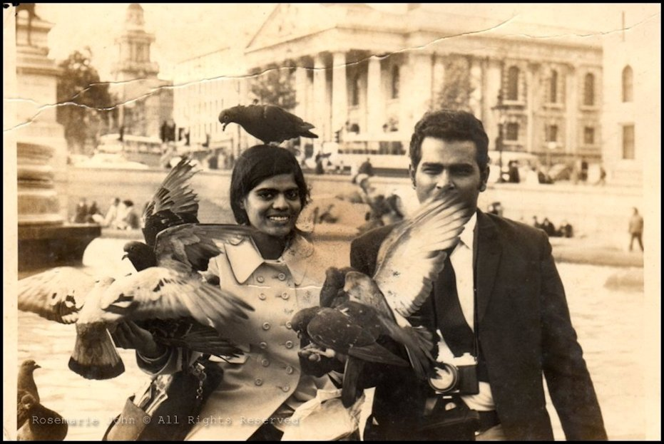 Mum and dad in the 1960s!