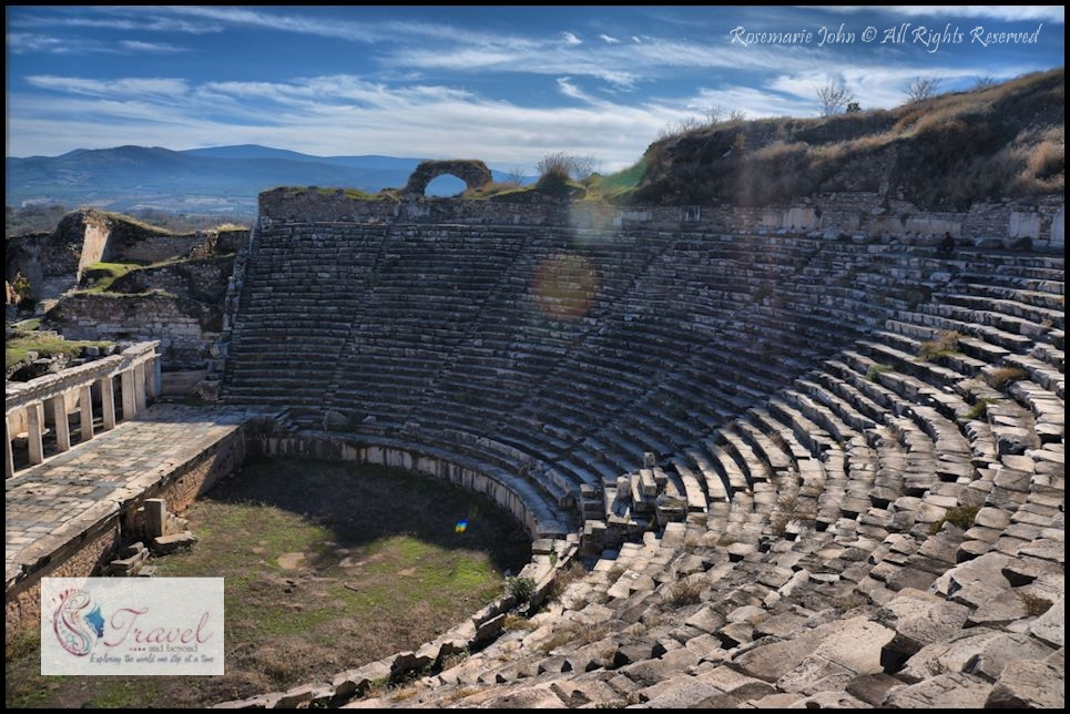 The 8,000-seater ancient theatre which was adapted for gladiatorial combat in the Roman period. It had amazing acoustic features that allowed the audience at the most highest seats to hear crystal clear dialogues. I was made to sing (to test the acoustics) at this ancient theatre by my entire tour group since it was my birthday!