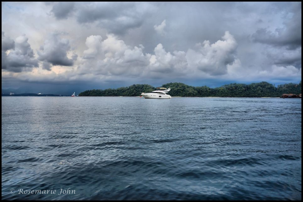 The majestic Lumba Lumba  - took this from the speedboat!