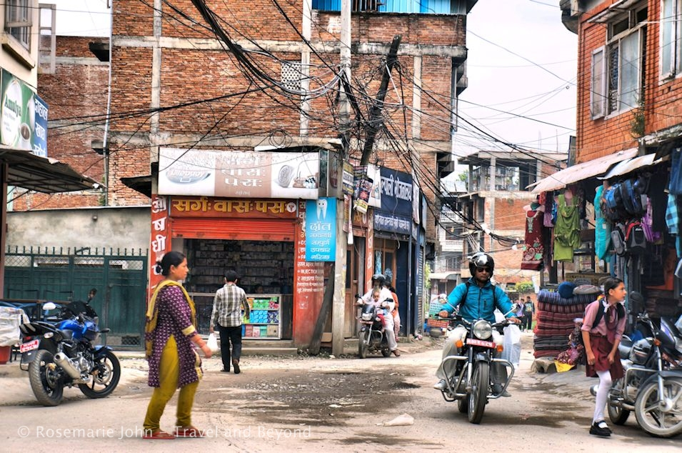 Dangling Wires of Kathmandu