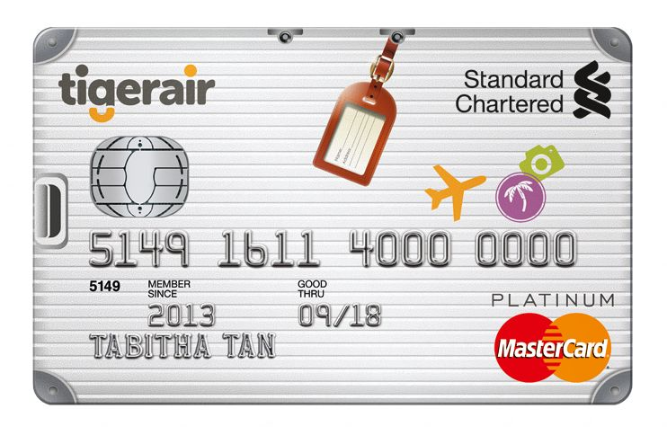 Standard Chartered Tigerair Platinum Card