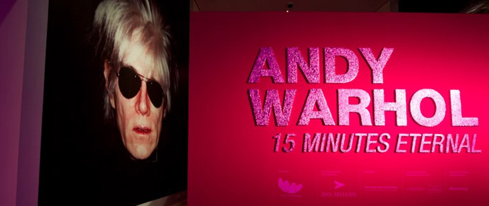 Thumbnail image for Andy Warhol: 15 Minutes Eternal Exhibits in Singapore