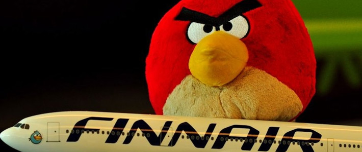 Thumbnail image for Angry Birds Storm into Singapore on Finnair