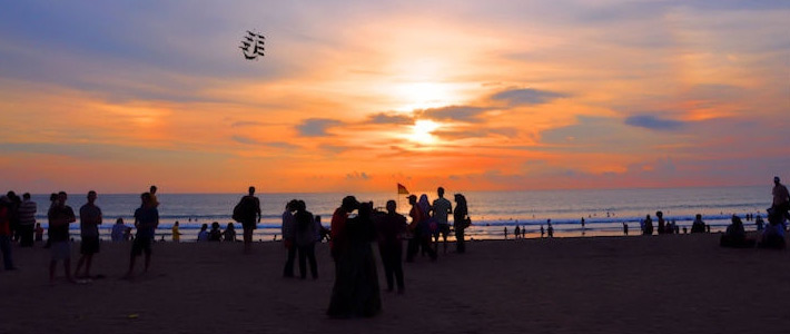 Thumbnail image for Dramatic Sunsets, White Sands and a Flurry of Activity