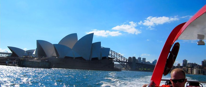 Thumbnail image for Jet Boating around the Sydney Harbour