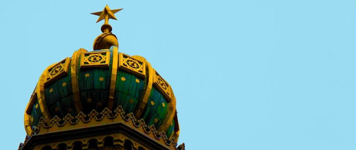 Thumbnail image for The Onion-Shaped Dome of the Central Synagogue in New York