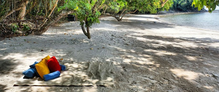 Thumbnail image for Picnicking on a Private Beach in Borneo