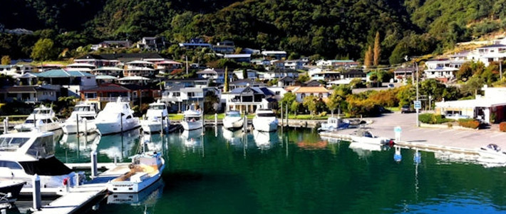 Thumbnail image for Scenic Video from the Coat Hanger Footbridge at Picton Harbour