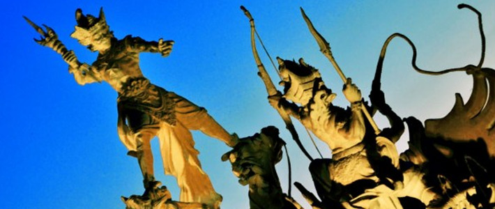 Thumbnail image for A Statue of Significance in Bali – The Flying Knight