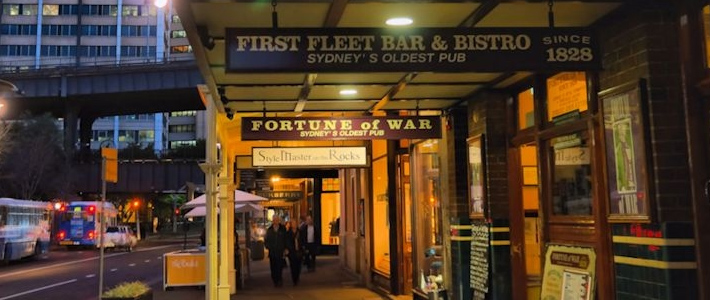 Thumbnail image for Grab a Bite at Sydney's Oldest Pub