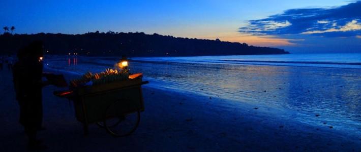 Thumbnail image for Postcard: Twilight Over Jimbaran Beach
