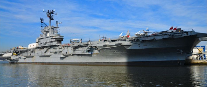 Thumbnail image for Boarding the USS Intrepid in New York City
