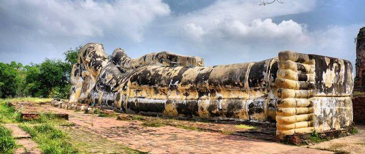 Thumbnail image for Reclining Buddha at Wat Lokayasutharam