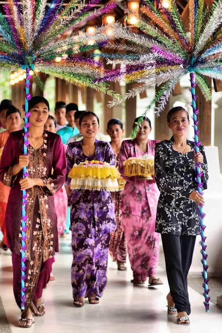 Mandi Bunga Ceremony