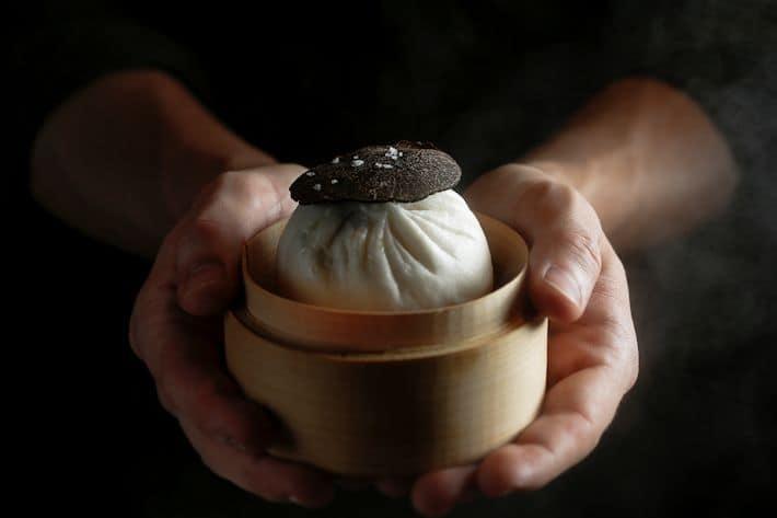 Antidote - Veal Cheek Perigore Sauce, Black Truffle Bao