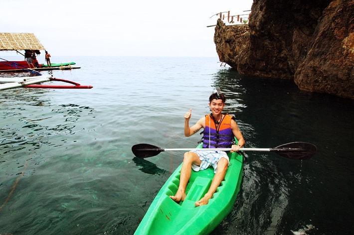 Kayaking Ariels Point