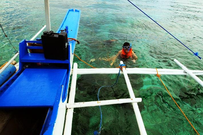 Snorkelling Crocodile Island