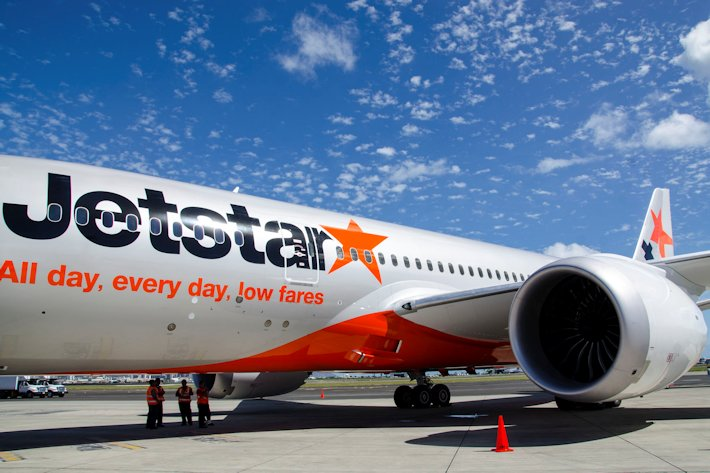 Experiencing business class on jetstar