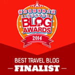 Best travel blog finalist
