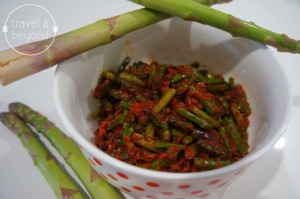 Spicy Stir Fry Asparagus