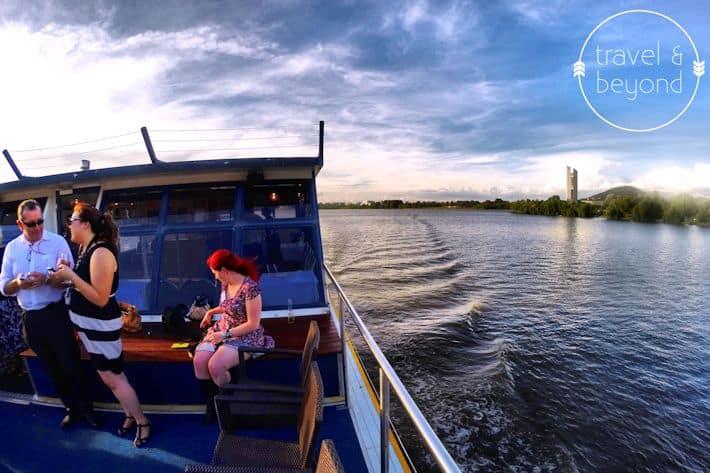 Cruising Lake Burley Griffin