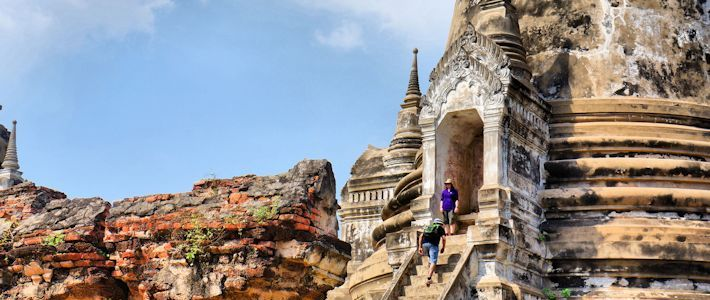Thumbnail image for The Ruins of Wat Phra Si Sanphet in Photos