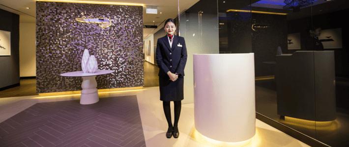 British Airways Lounge in Singapore