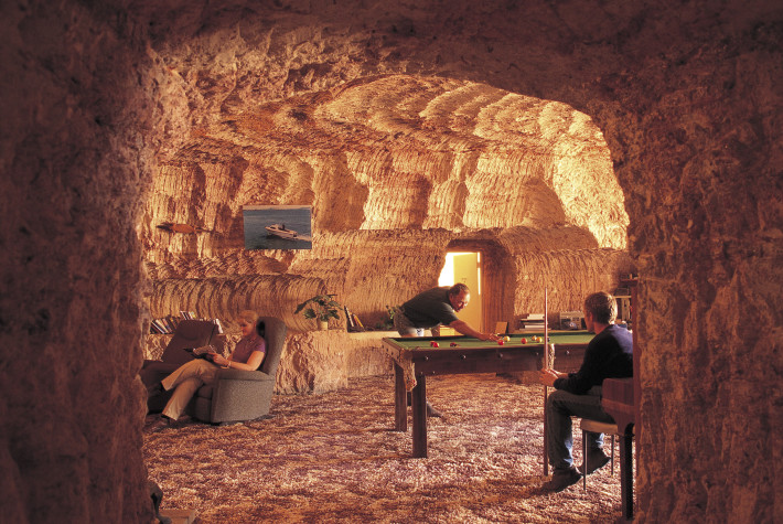Underground Home Coober Pedy. Photo credit: South Australian Tourism Commission