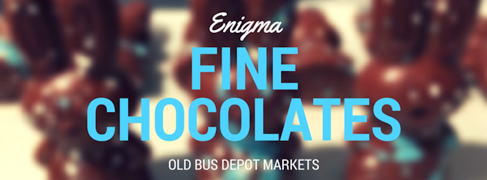 Thumbnail image for Enigma Fine Chocolates at the Old Bus Depot Markets