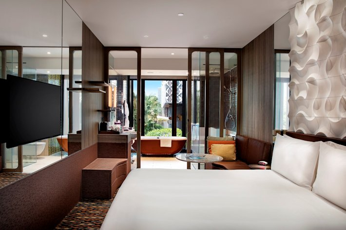 Crowne Plaza Changi Airport -Business King Room