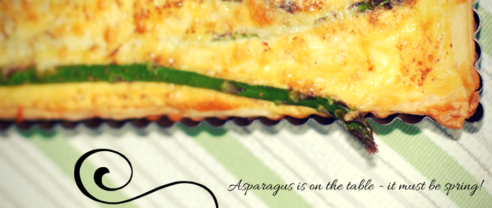 Thumbnail image for Asparagus on the table – it must be spring