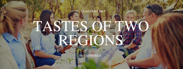 Thumbnail image for Tastes of Two Regions in Canberra