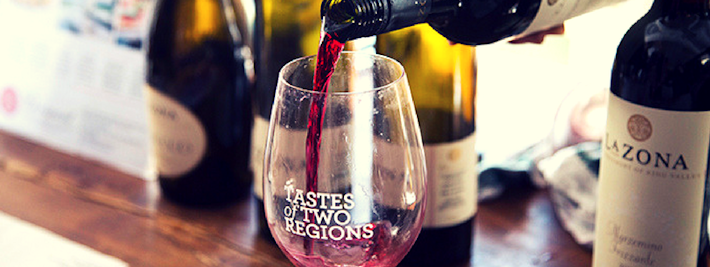 Thumbnail image for Savouring Victorian wines at the Tastes of Two Regions